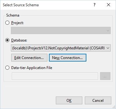 Select Schema Dialog